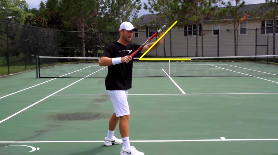 【海外動画レッスン】安定したストロークを打つためのラケットの振り方